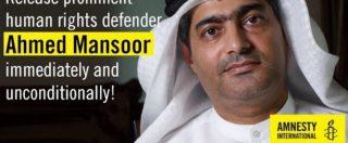 Emirati Arabi, così l'arresto dell'attivista Ahmed Mansoor svela l'uso e il business dei software spia targati Europa