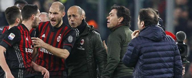 Juventus-Milan, Bacca se la cava con una giornata di squalifica. Al club 5mila euro di multa