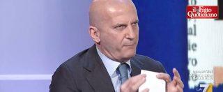 """Senato, Minzolini mostra lettera di dimissioni: """"Non prendo lezioni. Fatto Quotidiano? Fa satira come il Vernacoliere"""""""