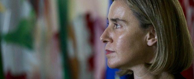 Politica estera in Ue, tutto sulle spalle di Federica Mogherini
