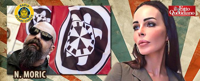 """Nina Moric: """"Scendere in politica Casapound? Vedremo. Mi ha fatto una proposta molto interessante"""""""