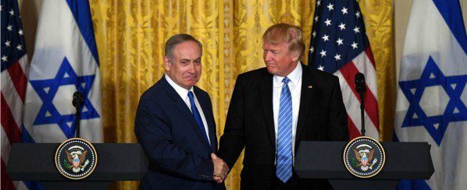 Risultati immagini per trump israele palestina