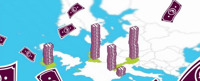 Paradisi fiscali, da lì un quarto dei profitti delle prime 20 banche europee. Tra le italiane, Intesa e Unicredit