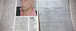 """Inchiesta Consip, in un altro pizzino spuntano i nomi """"Bonifaz"""" e """"Pess"""""""