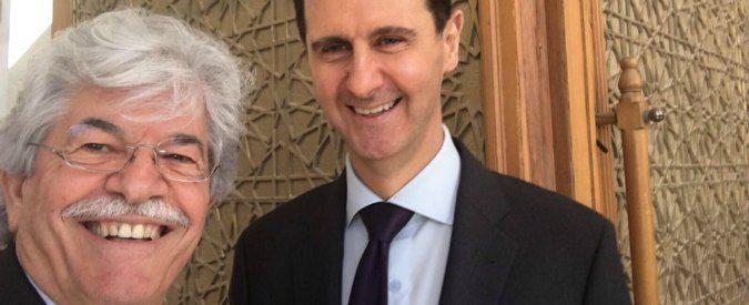 Antonio Razzi e il suo selfie vergognoso con Bashar al Assad
