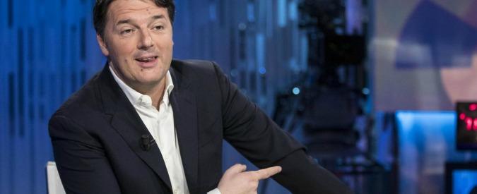 """Renzi: """"Sfiducia a Lotti? M5s ha preso sonore libecciate. Pronto a querelare, Di Battista e Di Maio rinuncino a immunità"""""""