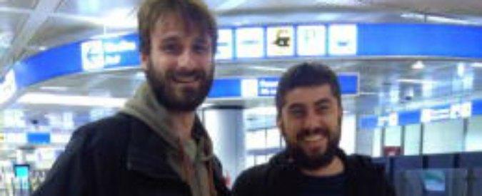 Report, rientrati in Italia i due giornalisti Luca Chianca e Paolo Palermo: erano stati arrestati in Congo
