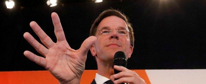 """Elezioni Olanda, vince il liberale Rutte: """"Dopo Brexit e Trump, abbiamo detto no al populismo"""""""