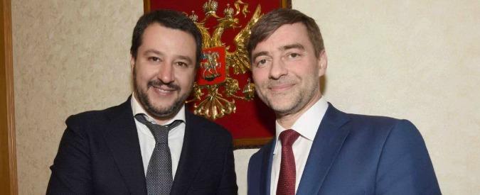 """Salvini, il comunista padano a Mosca: patto col partito di Putin e incontro con Lavrov. """"Lavoro per vedere Trump"""""""