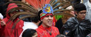 """Usa, i Sioux non si arrendono: marcia a Washington contro l'oleodotto voluto da Trump. """"La nostra terra è sacra"""""""