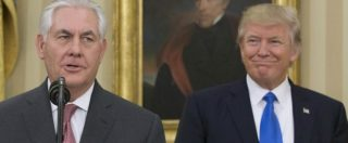 """Usa, Trump caccia il segretario di Stato Tillerson: """"In disaccordo su alcune cose"""". Al suo posto il capo della Cia Pompeo"""