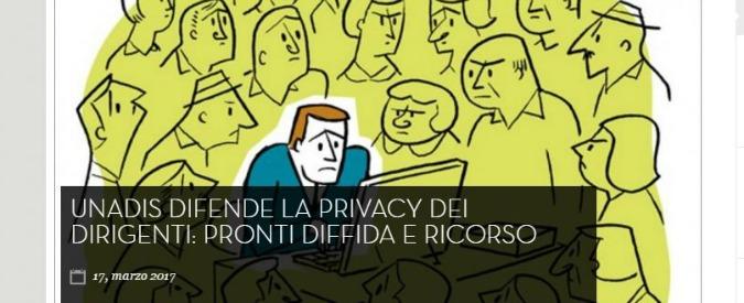 """Riforma Madia, ricorso dei dirigenti pubblici contro obbligo di pubblicare la situazione patrimoniale: """"C'è la privacy"""""""
