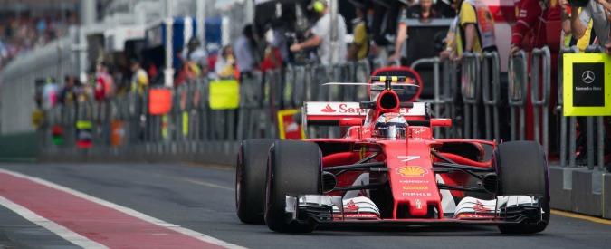 Formula 1, gp Australia: Hamilton in pole, ma Vettel è subito dietro. Sorpresa Giovinazzi