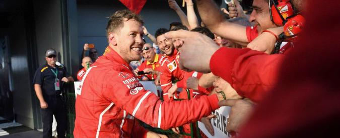 Formula 1, gp di Melbourne: la prima è rossa. Trionfa Vettel dopo un anno e sei mesi. Secondo Hamilton – VIDEO