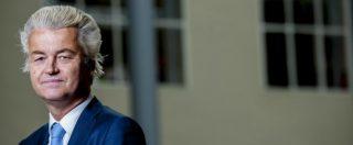 """Olanda verso il voto – Wilders: """"Euro e Ue spariranno tra poco"""". Esposta bandiera turca sul consolato olandese di Istanbul"""