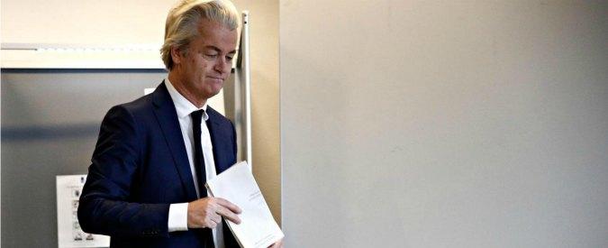 """Elezioni Olanda, fermata la """"crociata"""" del populista Wilders e dei bianchi """"declassati"""""""