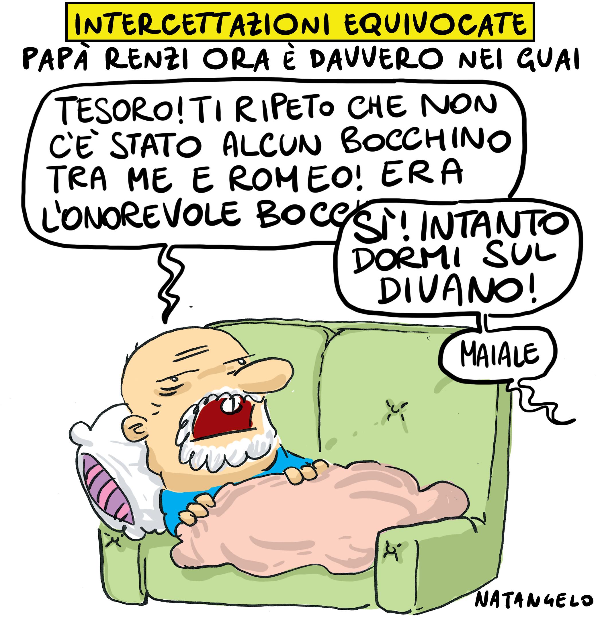 Adesso papà Renzi è DAVVERO nei guai