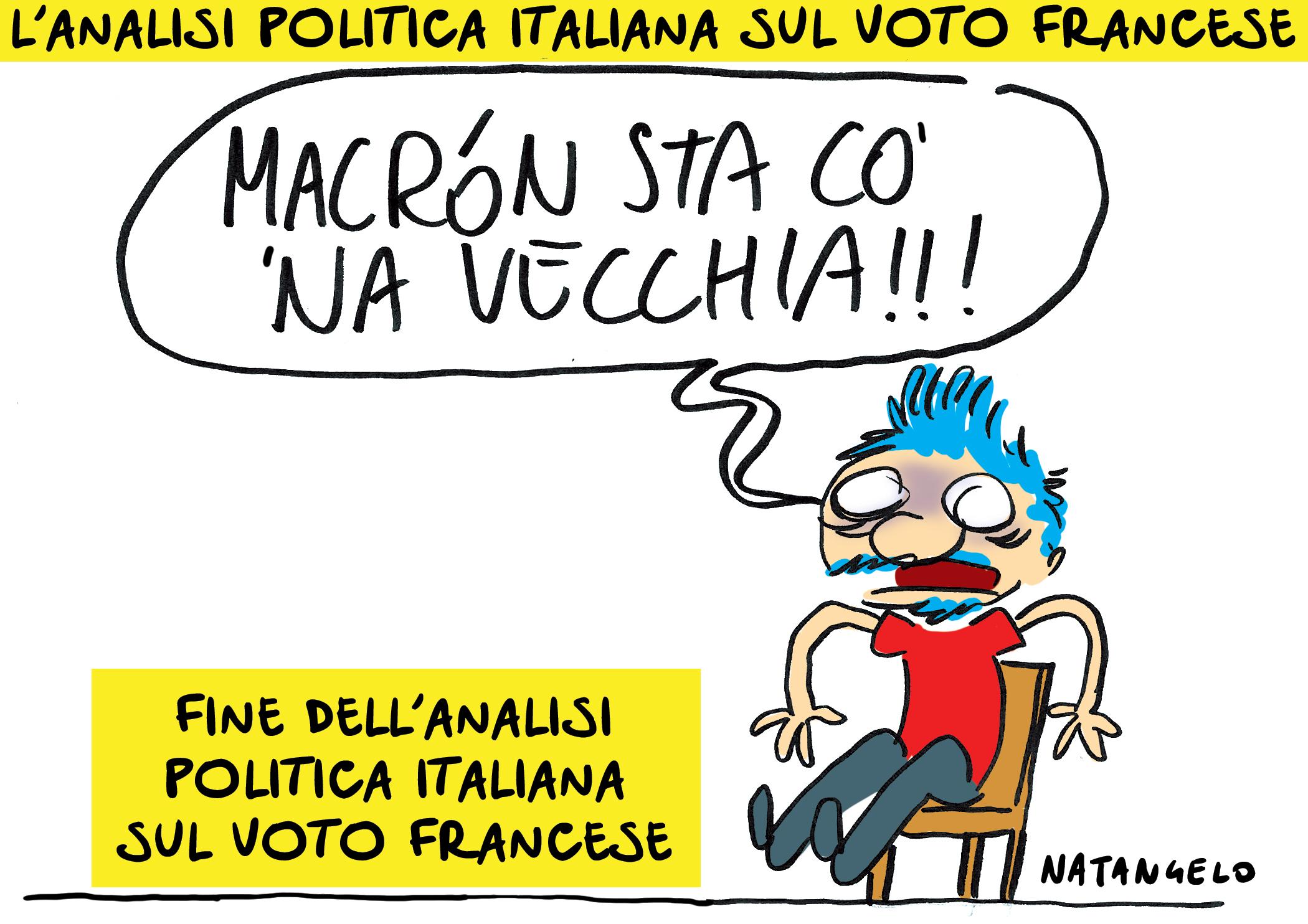 L'analisi politica italiana sul voto francese