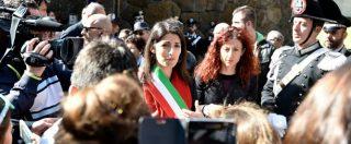 25 aprile, a Roma manifestazioni divise di Anpi e Brigata Ebraica. Raggi a entrambe, il Pd diserta quello dei partigiani
