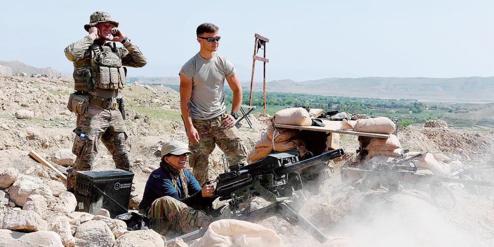 Benvenuti al poligono Afghanistan