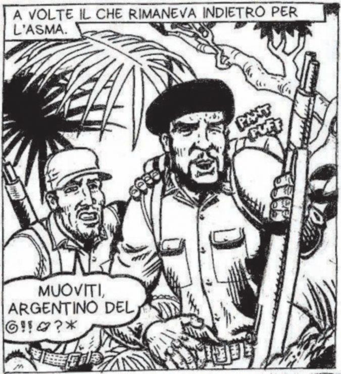 """Omaggio minimalista e un po' vintage  alla vita del comandante """"Che"""" Guevara"""