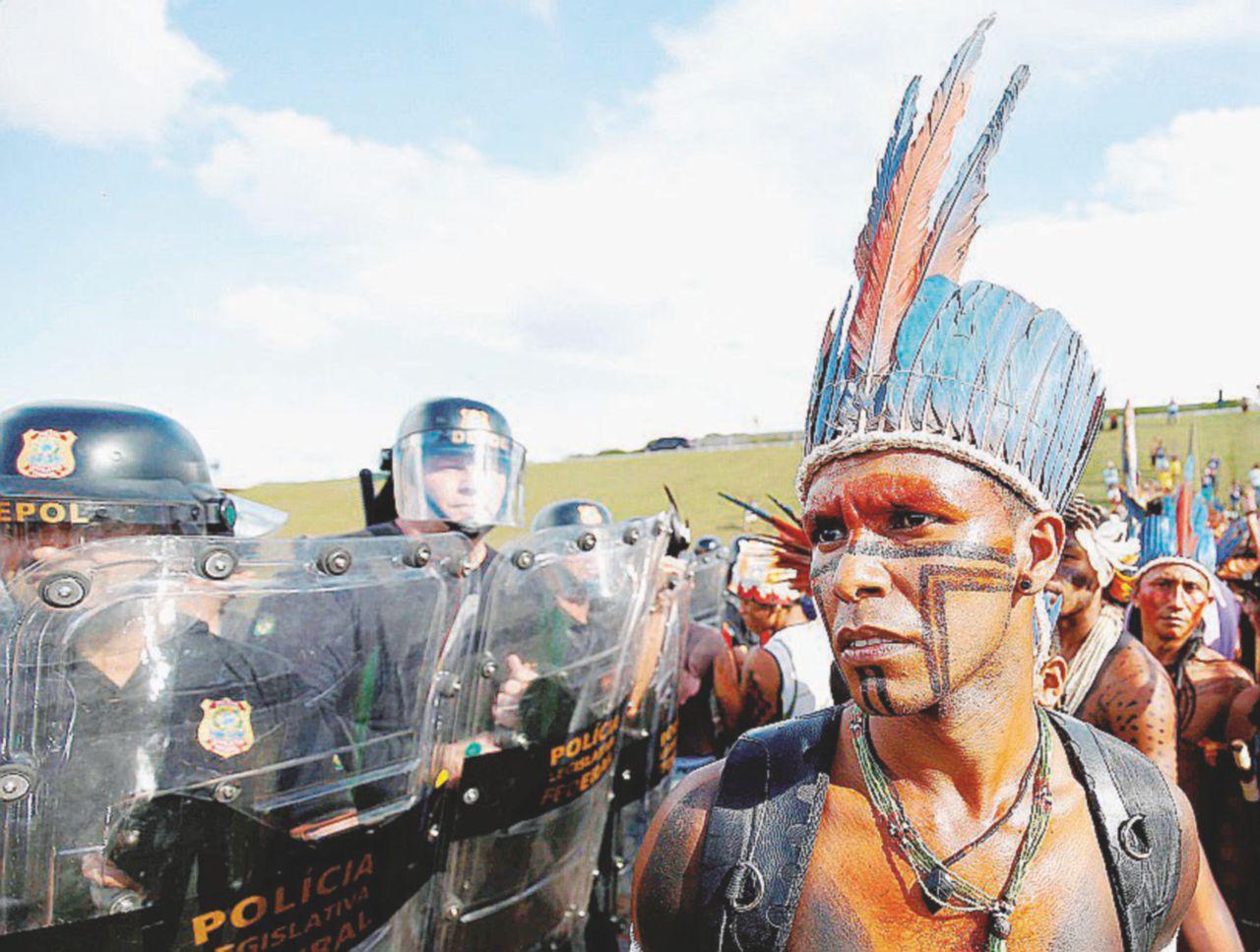 Indios sul sentiero di guerra