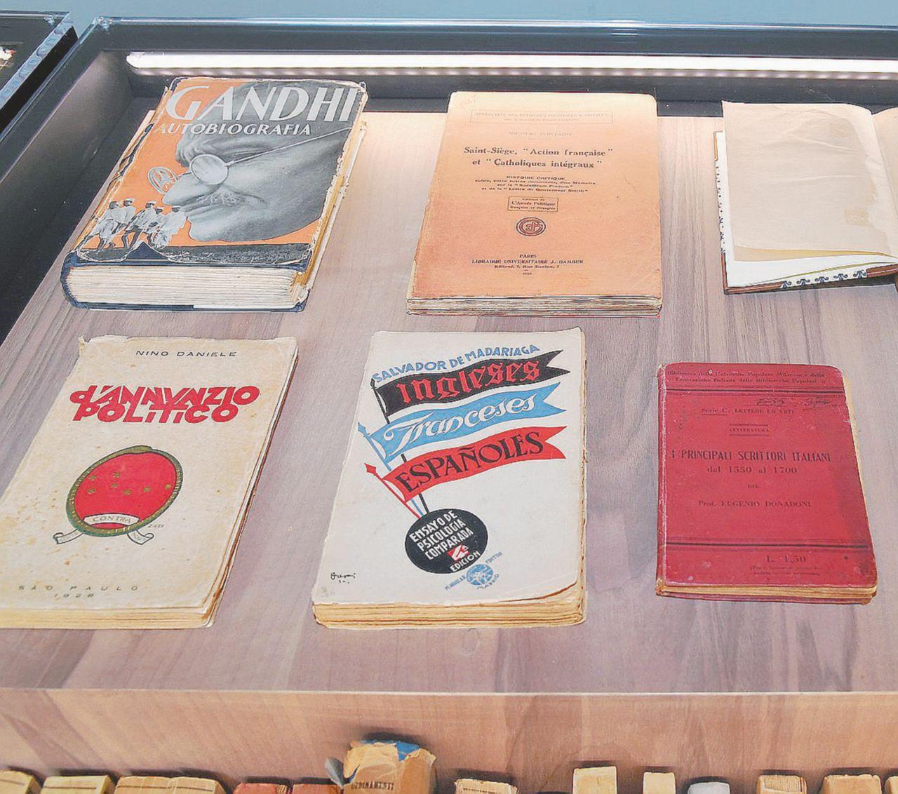 Croce, Gandhi, D'Annunzio: i libri del detenuto Gramsci