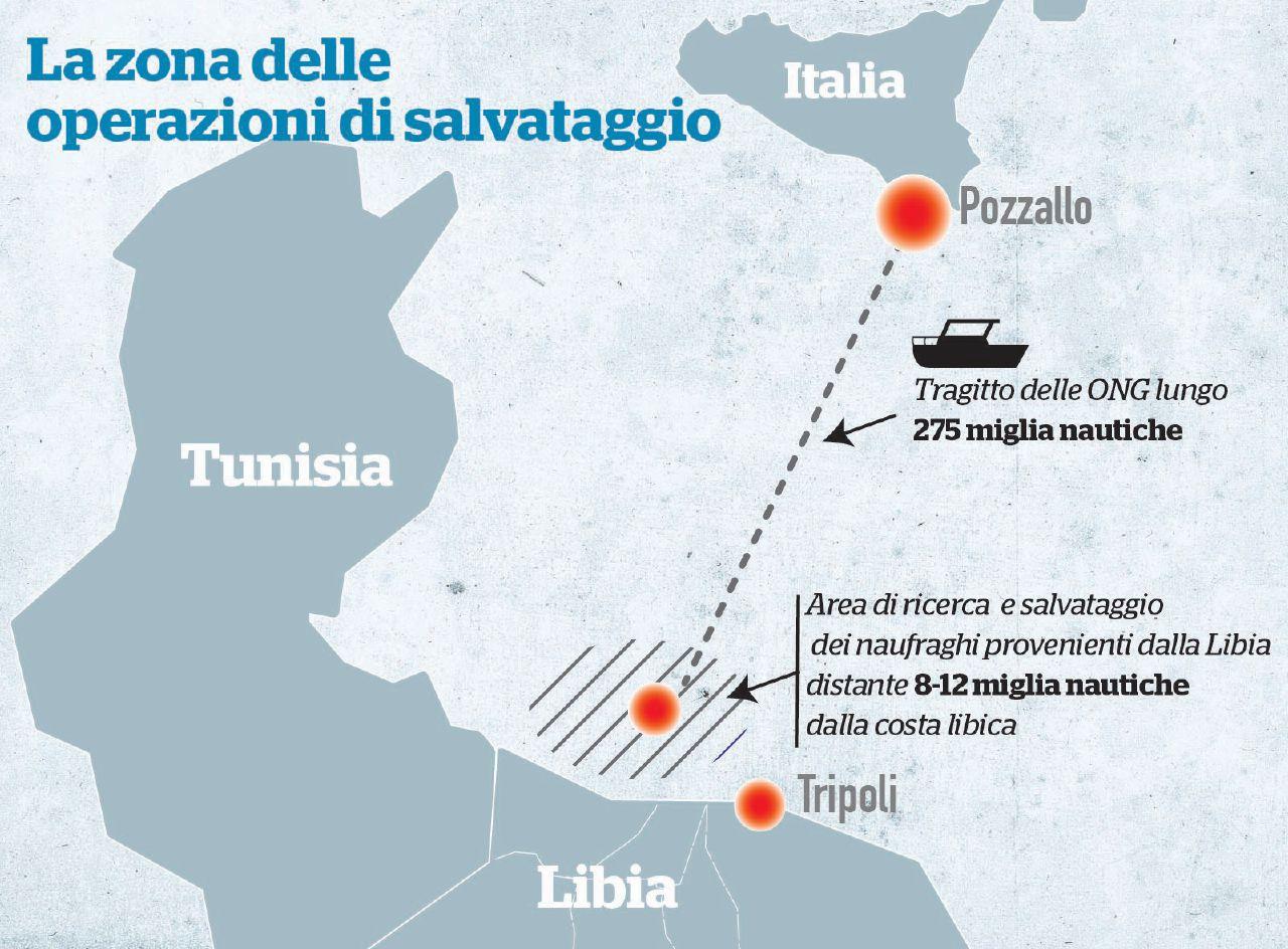 Il governo lo sa: contatti tra Ong e trafficanti libici