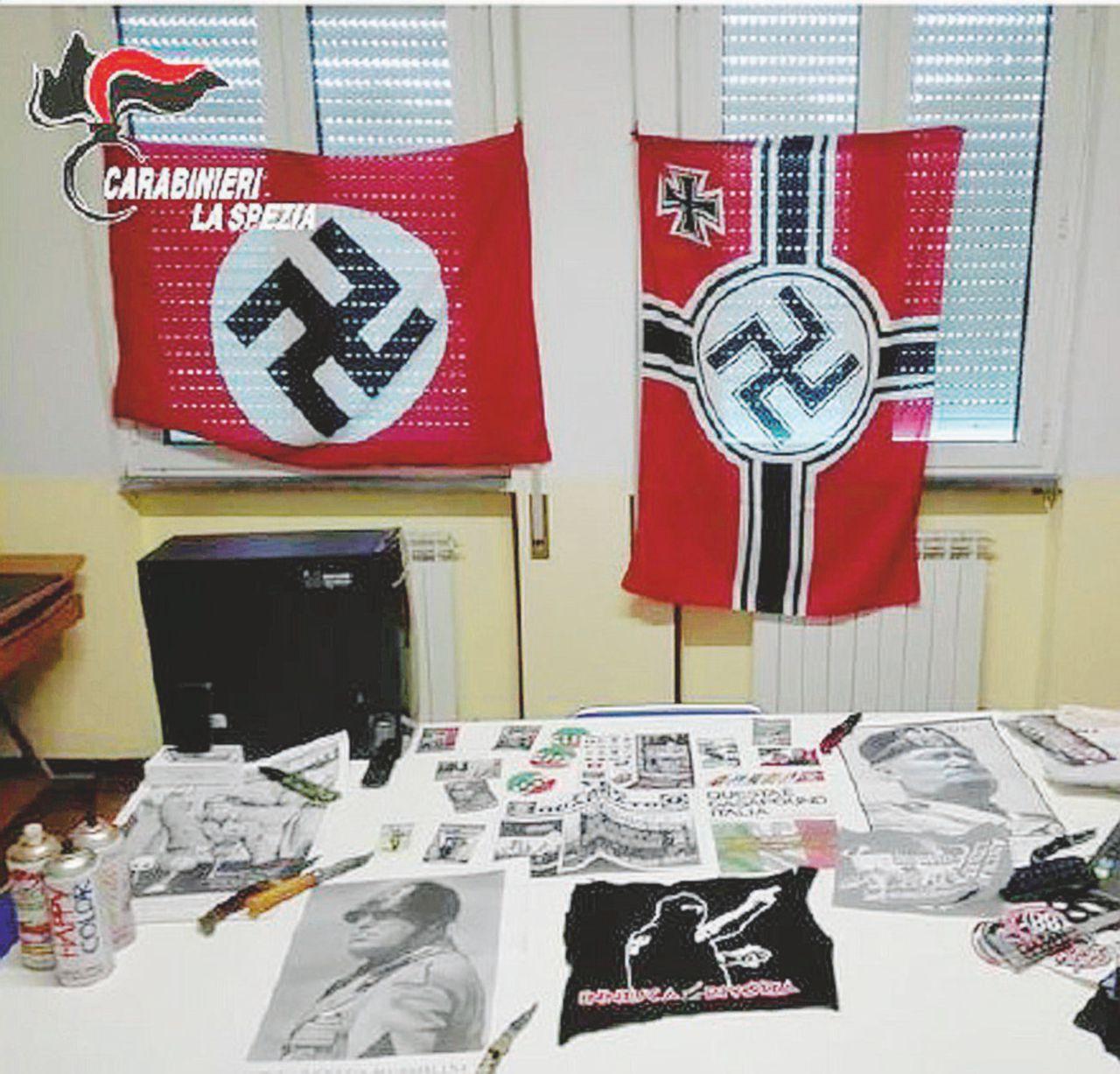 I nazi di La Spezia: contro Resistenza, Caritas e Pd