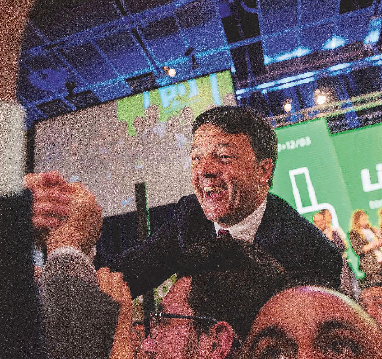 Renzi esulta nel deserto fra brogli e contestazioni