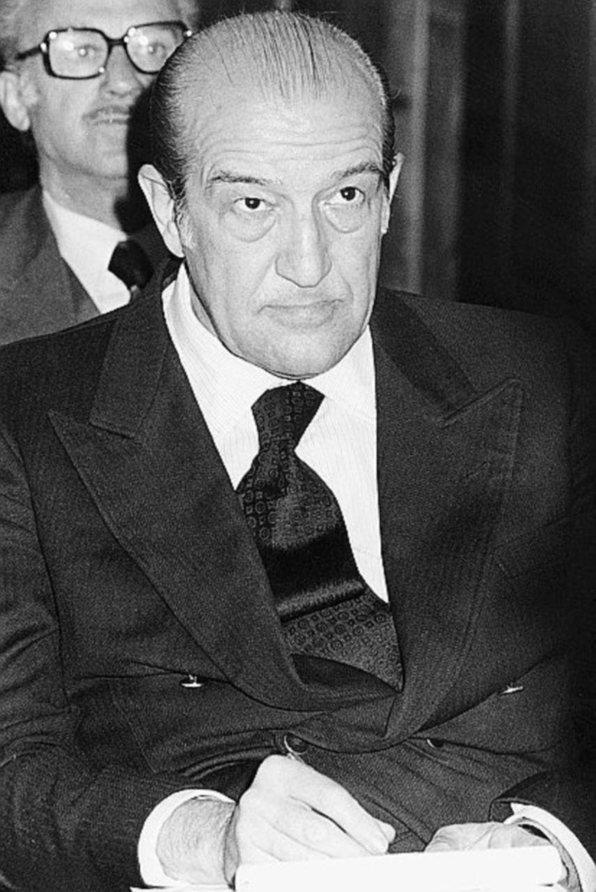 Il procuratore generale di Palermo Roberto Scarpinato e Francesco Cosentino, deputato dc legato ad Andreotti, iscritto alla P2.