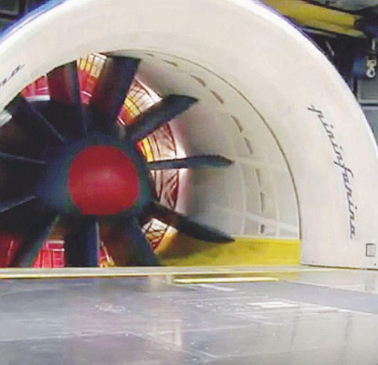 Nell'iper-tecnologica fabbrica della Pininfarina muore un tecnico in galleria del vento