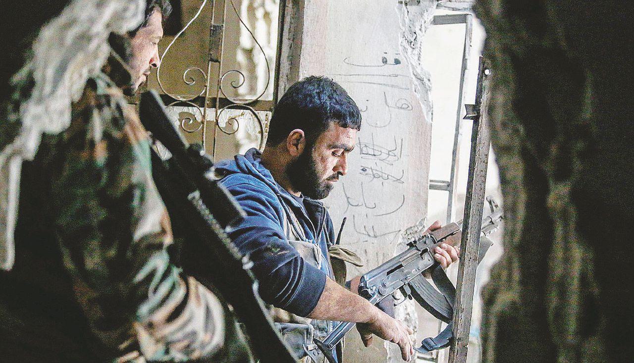 I ribelli temono di essere sacrificati nel Risiko siriano