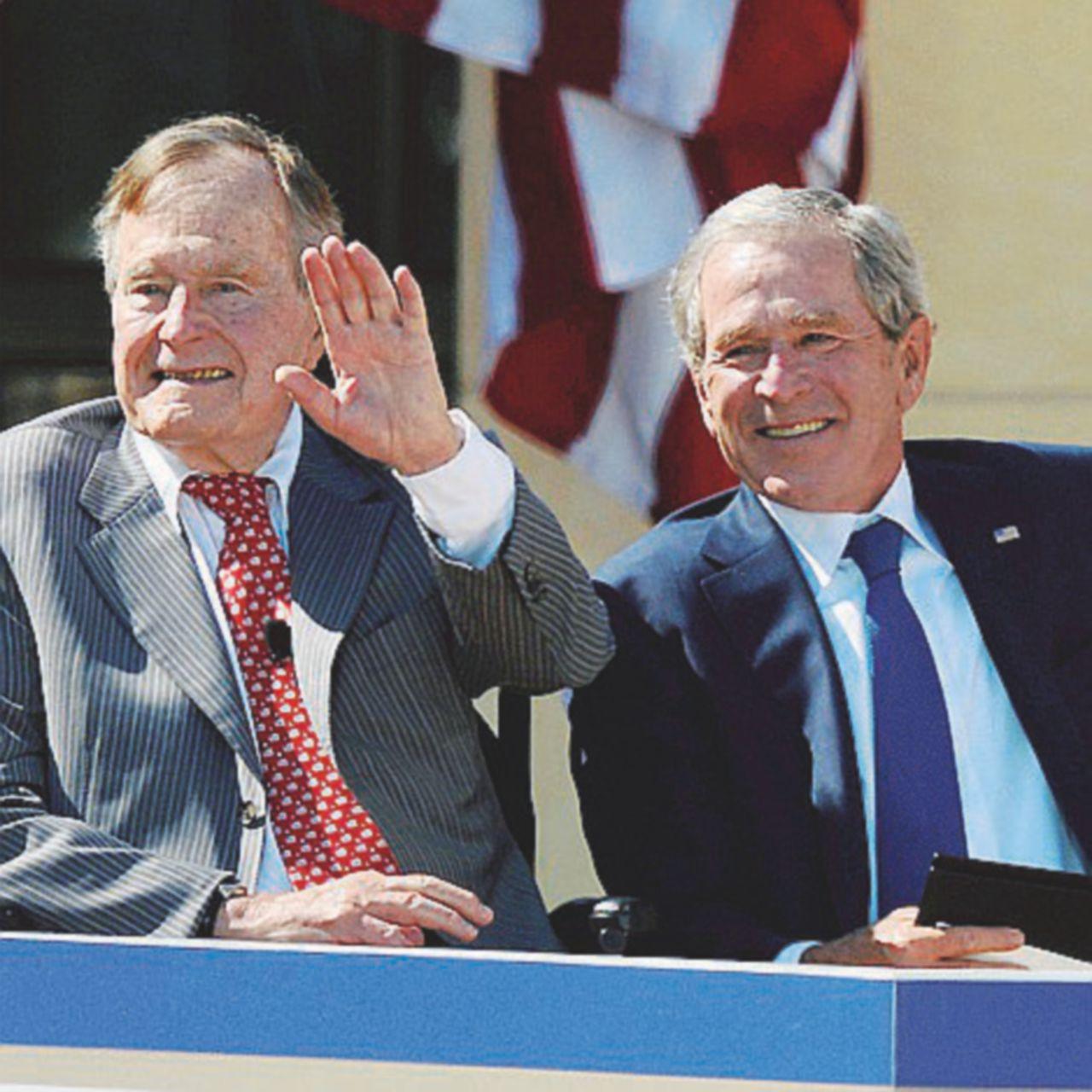 Bush padre, lui sì domò il mostro
