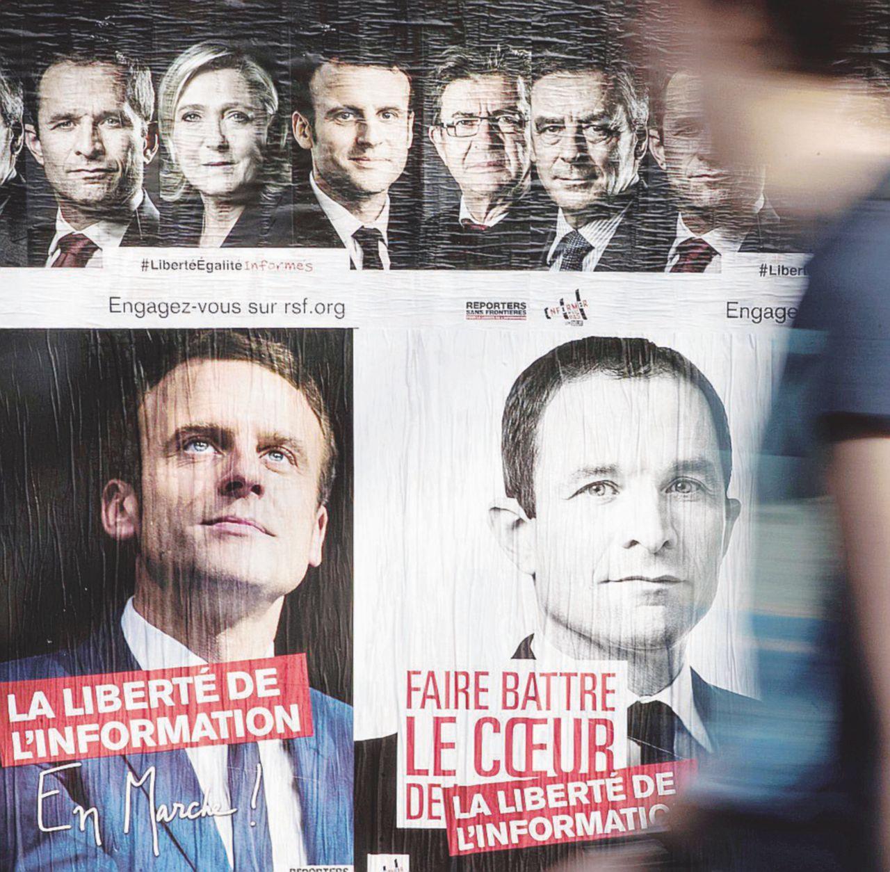 "Mélenchon ""populista rosso"" schianta Hamon"