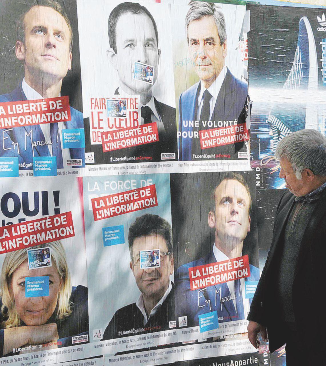 Elettore fai astensione: incubo Mélenchon-Le Pen