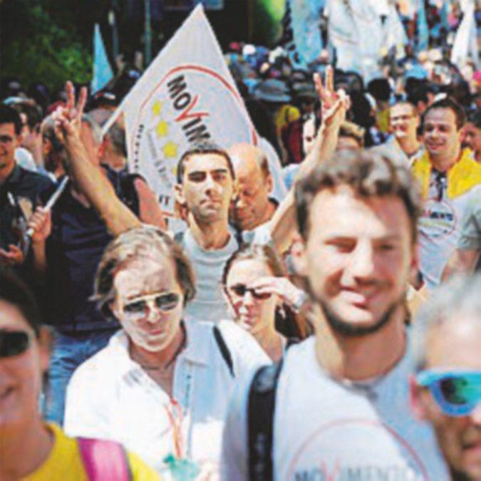 M5S, il 20 maggio nuova marcia per il reddito di cittadinanza