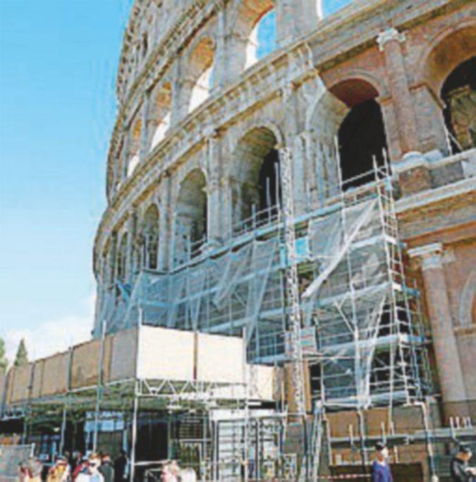 Reggio, revocata la segnalazione sui restauratori del Colosseo
