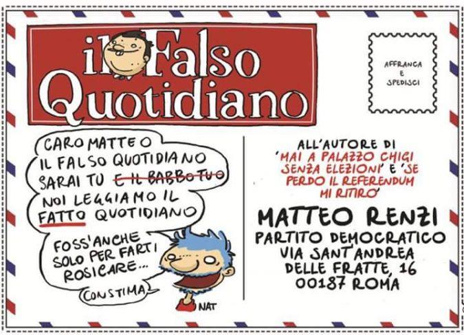 Scrivi a Matteo!
