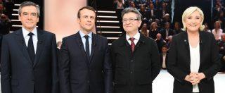 """Francia verso il ballottaggio tra Macron e Le Pen. Lui: """"Uniamo il Paese"""". Lei: """"L'alternativa sono io"""". Crollano i partiti tradizionali"""
