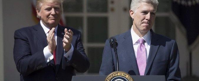 Usa, Neil Gorsuch è il nuovo giudice della Corte Suprema: conservatore nominato da Donald Trump