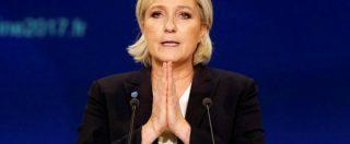 """Marine Le Pen contro Papa Francesco: """"Accoglienza ai migranti doverosa? Ingerenza. La Chiesa non faccia politica"""""""
