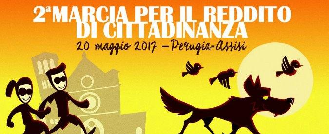 """M5s, seconda edizione della marcia per il reddito di cittadinanza Perugia-Assisi: """"Manovra per far ripartire i consumi"""""""