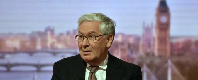 """Brexit, ex governatore della Banca d'Inghilterra King: """"Londra sia pronta a uscire dall'Ue anche senza accordo"""""""