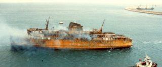 """Moby Prince, la nave deviò dalla rotta per una """"turbativa"""". La manovra eroica del capitano per disincagliare il traghetto"""