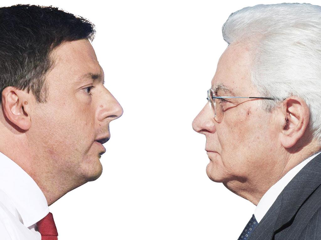 In Edicola sul Fatto Quotidiano del 27 aprile: Renzi Tentenna nella morsa tra  Alitalia e Mattarella