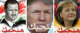 Attacco Usa in Siria, arabi divisi sui social: alcuni 'amano Trump' come Assad, per altri 'anche in Iraq c'erano armi chimiche'