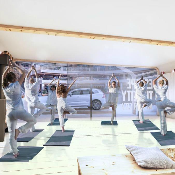 In Gran Bretagna si va a lezione (gratis) di yoga con Volvo
