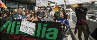 Alitalia, pre accordo azienda-sindacati per evitare commissariamento. Con una nuova garanzia pubblica
