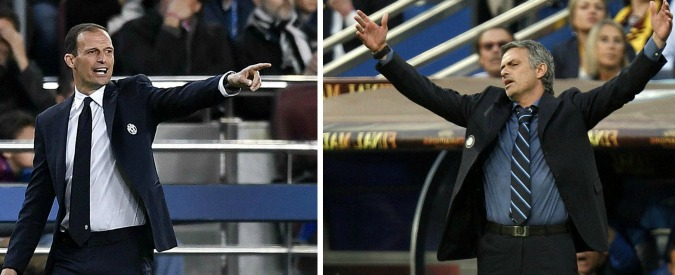 Juve di Allegri o Inter di Mourinho? Il paragone sulla strada del triplete tra azzardi e suggestioni – SONDAGGIO